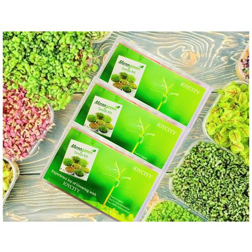 Joycity Gram Microgreens, 400+ Seeds