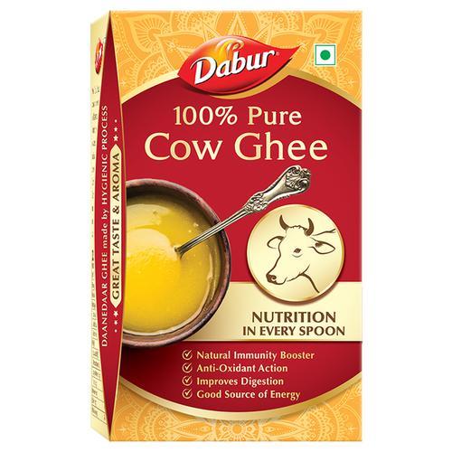 Dabur 100% Pure Cow Ghee, 1 L Box