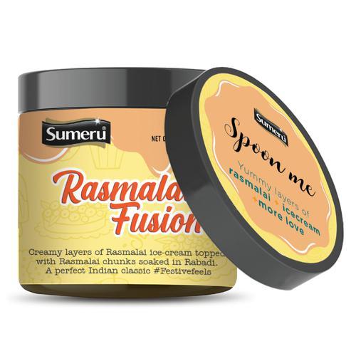 sumeru Ice Cream Cake - Rasmalai Fusion, 200 ml Pet Jar