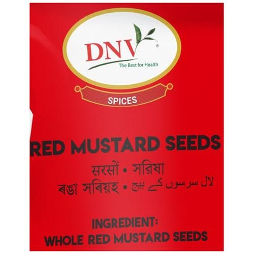 DNV Red Mustard Seeds, 100 g Pouch