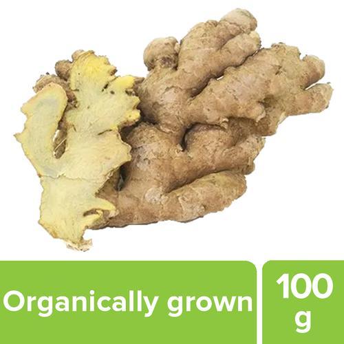 Fresho Ginger - Organically Grown, 100 g