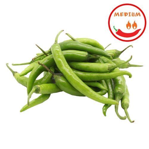 Fresho Chilli - Green, Organically Grown, 100 g
