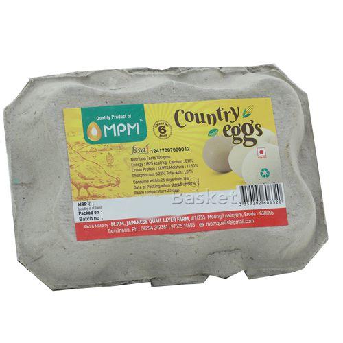 Mpm Eggs - Country, 6 pcs Carton