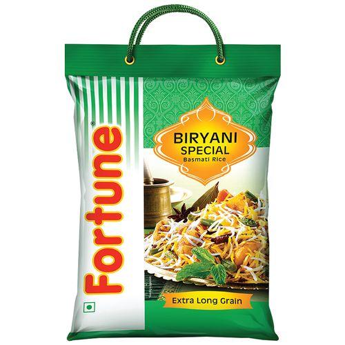 Fortune  Basmati Rice - Biryani Special, 5 kg Pouch