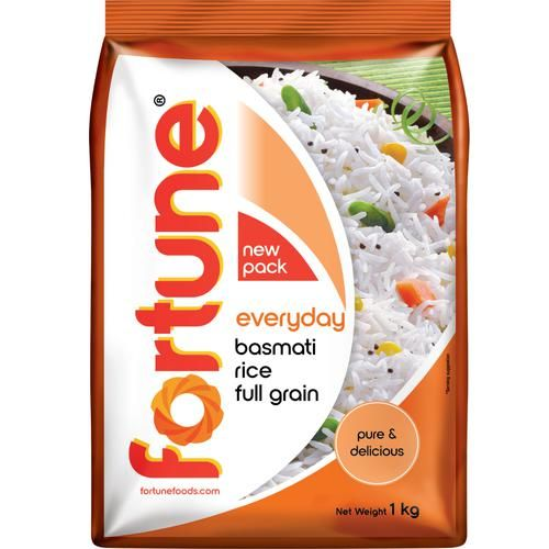 Fortune  Everyday Basmati Rice, 1 kg Pouch