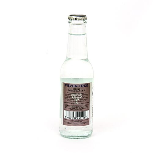 Fever Tree Spring Water - Soda Water, 200 ml
