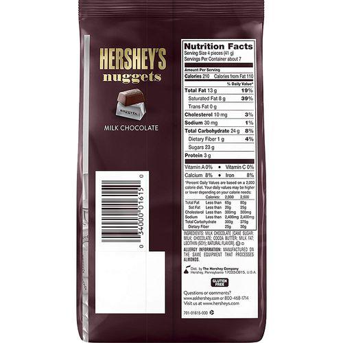 Buy Hersheys Nuggets Milk Chocolate 340