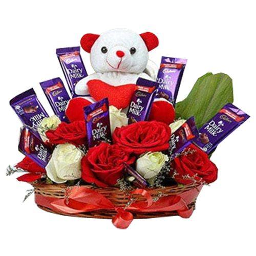 Ferns N Petals Pvt Ltd Flower Bouquet - Special Surprise Arrangement, 400 g