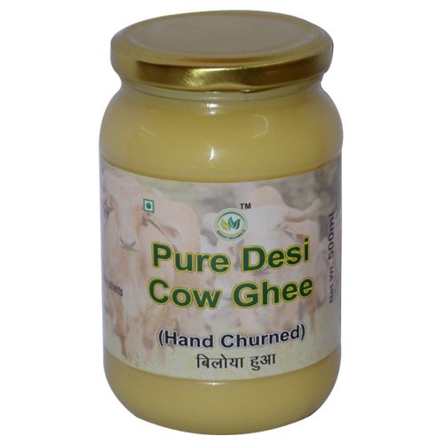 Siddhi Organics Ghee - Desi Cow From Gir Cows A-2 Milk, 500 g