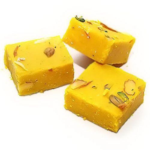 Mr. Meetharam Sweets - Kesar Barfi, 500 g