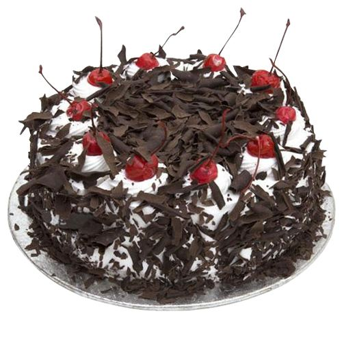Cake town Cafe Classic Blackforest Cake, 1 kg