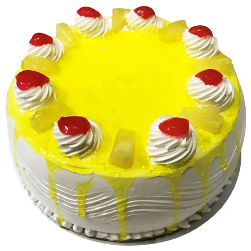 Cake town Cafe Pineapple Cherry Cake, 500 g
