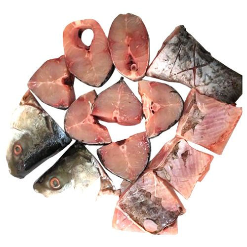 ChopServe Rohu Fish - Bengali Cut, 1 kg