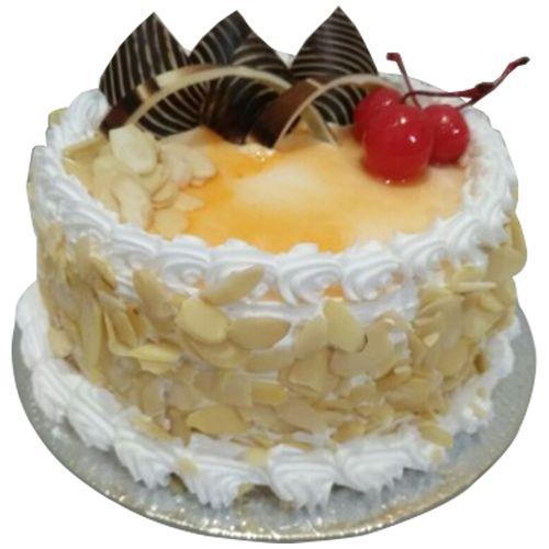 Bakers home Fresh Cake - Eggless, Honey Almond, 1 kg