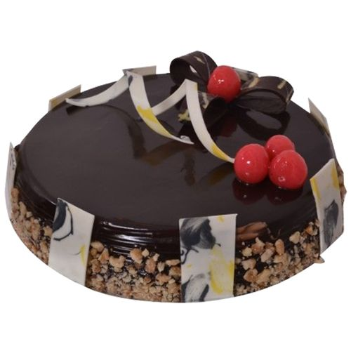 Bakers home Fresh Cake - Eggless, Choco Walnut Fantasy, 1 kg