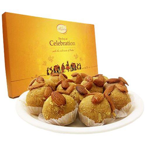 Kesar Sweets (GBM) Sweets - Besan Ladoo, 500 g