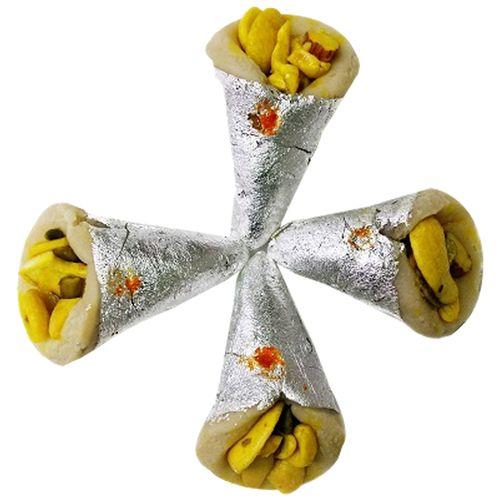 Kesar Sweets (GBM) Sweets - Kaju Pan, 500 g