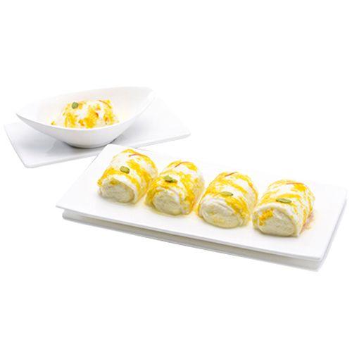 Kesar Sweets (GBM) Sweets - Malai Roll, 5 pcs