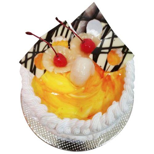 Cakes Empire Fresh Cake - Mix Fruit Gateau, Eggless, 1 kg