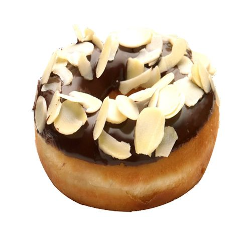 Krispy Kreme Doughnuts-Mumbai Doughnut - Almond All Over, 1 pc