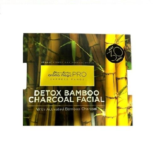 Aroma Magic  Cosmetics - Pro Detox Bamboo Charcoal Facial(Set of 3), 170 g