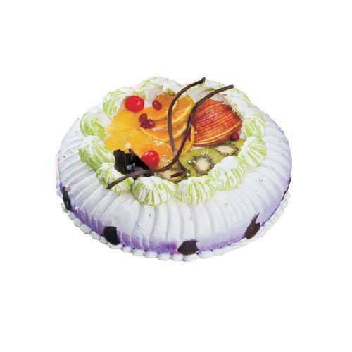 Cream De Fiesta Fresh Cakes - Tropical (Mix Fruit), 1 kg