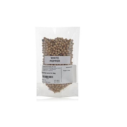 Brown Tree Retail Spices - Pepper White, 50 g