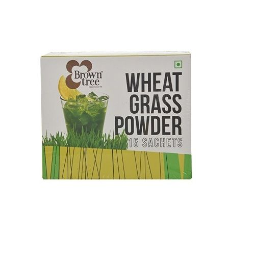 Brown Tree Retail Spices - Wheat Grass powder, 60 g Pack of 2