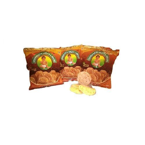 Chakravarthi Sweets and Snacks Snacks- Nippattu Salt, 450 g Pack of 3