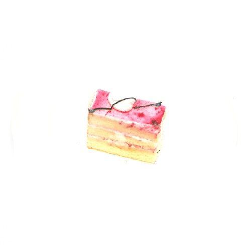 parfait3 Cakes - Strawberry, 4 pcs