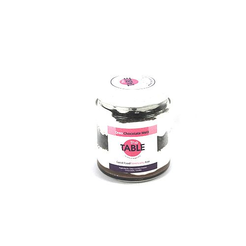 The Table Cake - Oreo Chocolate Melt, 150 g Sealed Jars