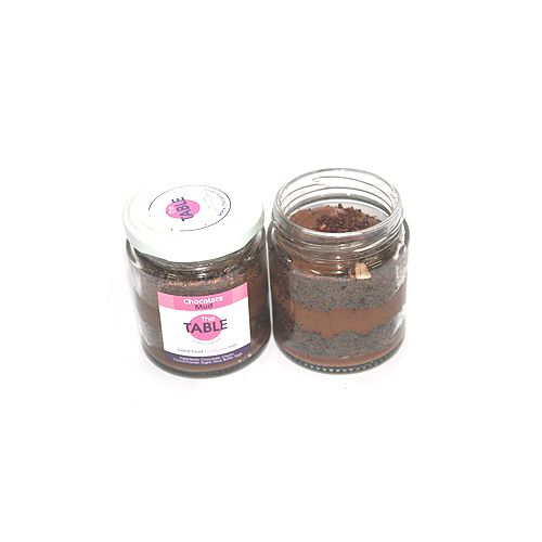 The Table Cake - Chocolate Mud   Combo, 300 g Pack of 2 Jars