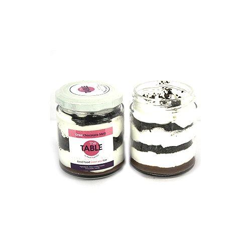 The Table Cake - Oreo Chocolate Melt Combo, 300 g Pack of 2 Jars