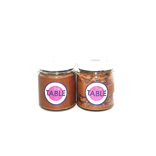 The Table Cake - Sin Azucar & Macaroon Jar   Combo, 300 g Pack of 2 Jars