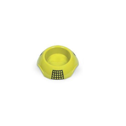 Pets 101 Pet Accessories - Luna Bowls - Yellow, Medium