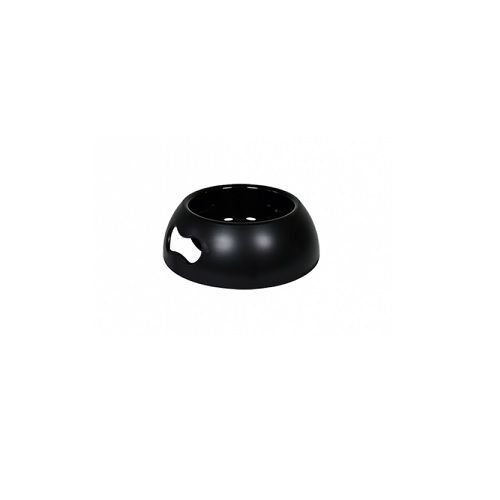 Pets 101 Pet Accessories - Pappy -  Bowl  - Black, Medium
