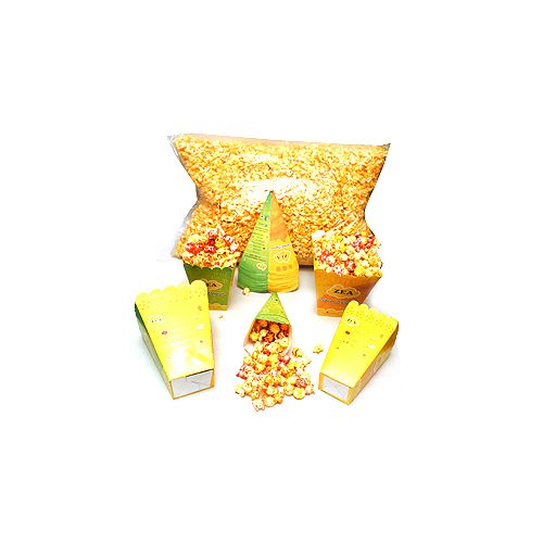 Zea Gourmet Popcorn Popcorn - Candy Crush Caramel Party Pack, 1.25 kg Party Pack