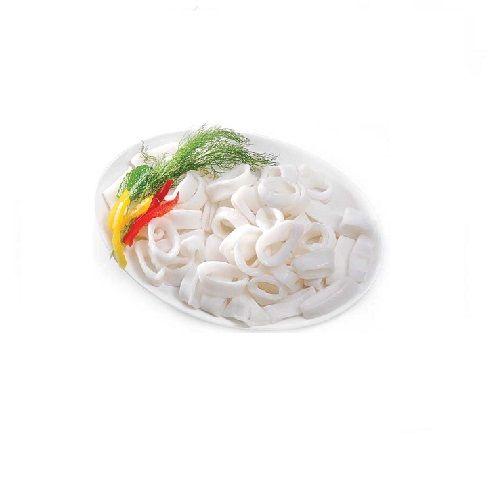 Chennai Seafood Fish - Squid Rings, 1 kg Tray