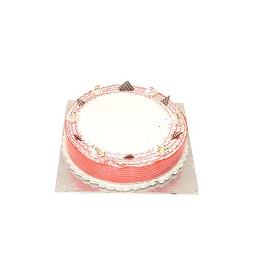 Food Mart Cake - Stawberry Fresh Cream, 500 g