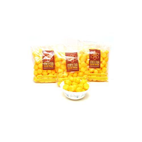 Meena mithai Mandir Namkeen - Cheese Ball, 420 g Pack of 2