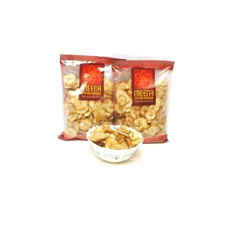 Meena mithai Mandir Namkeen - Banana Chips Pepper, 450 g Pack of 3