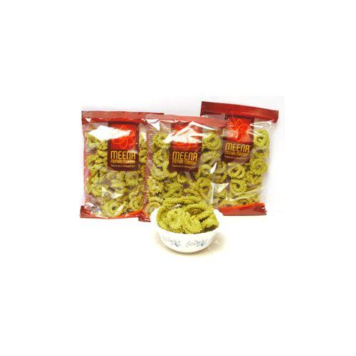 Meena mithai Mandir Namkeen - Palak Murk, 500 g Pack of 5