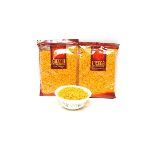 Meena mithai Mandir Namkeen - Cheese Sev, 540 g Pouch