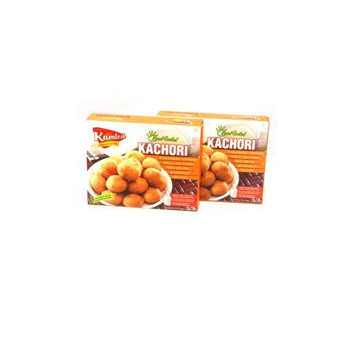 KAMLESH FOODS Namkeen - Kachori  ( Hand Cooked ), 600 g Box