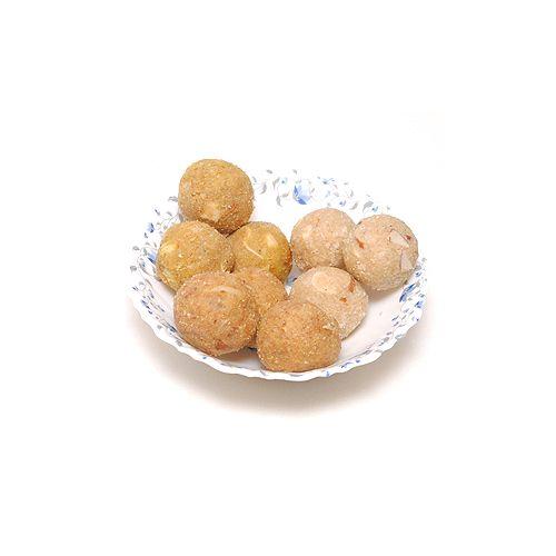 Meena mithai Mandir Namkeen - Assortment Of Ladoos, 500 g