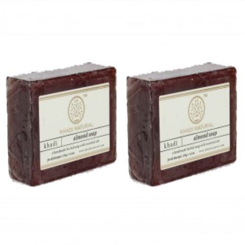 Khadi Organic - Khadi Almond Soap, 125 g Pack of 3