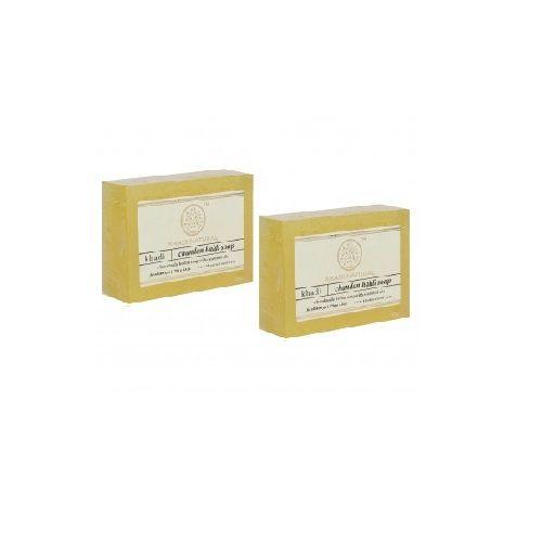Khadi Organic - Khadi Haldi Chandan Soap, 125 g Pack of 3