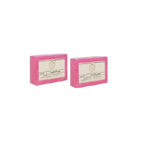 Khadi Organic - Khadi Rose Water soap, 125 g Pack of 3