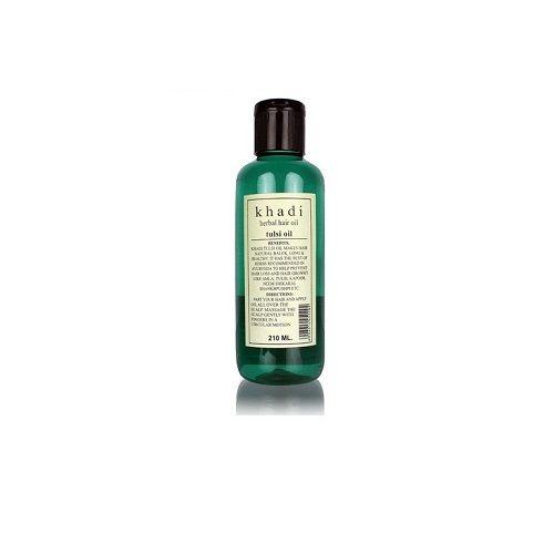 Khadi Organic - Khadi Tulsi Oil, 210 ml Pack of 2