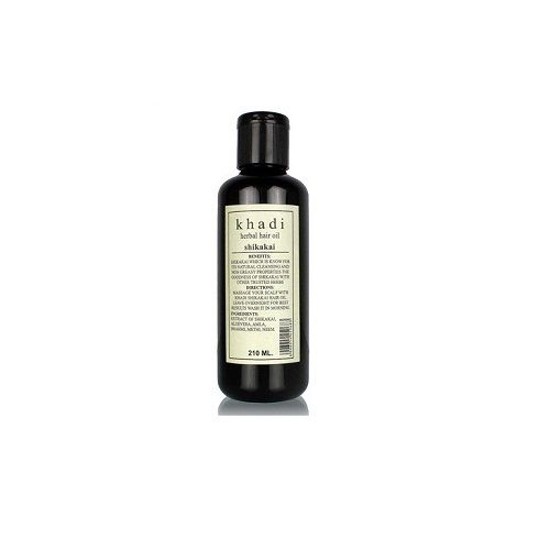Khadi Organic - Khadi Shikakai Herbal Oil, 210 ml Pack of 2
